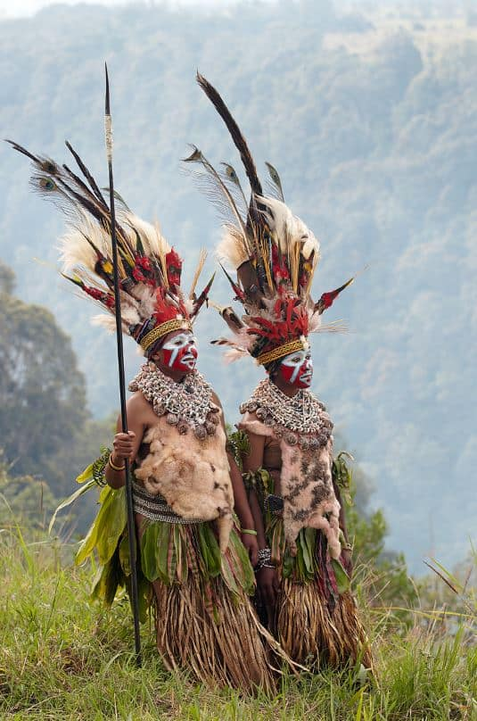 Huli people of Mt Hagen credit Chris McLennan