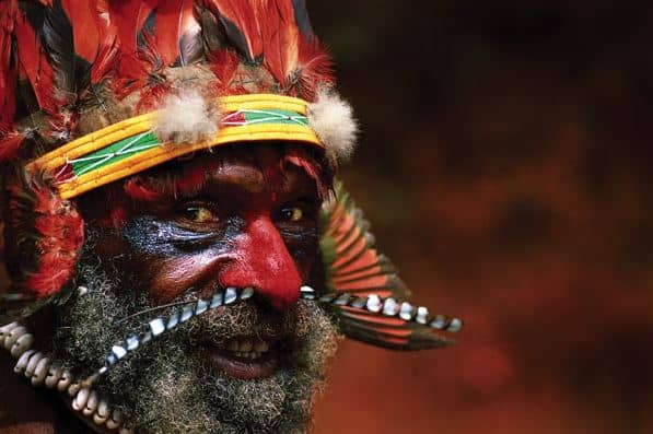 Tribesman of Mt. Hagen